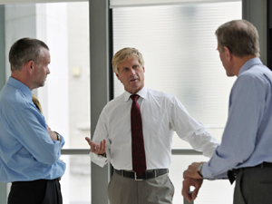Three senior managers