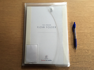 Flow Folder in protective packaging